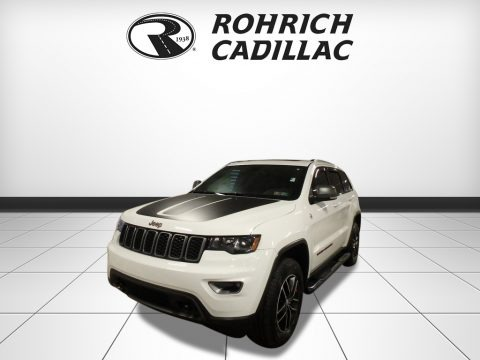 Bright White 2017 Jeep Grand Cherokee Trailhawk 4x4