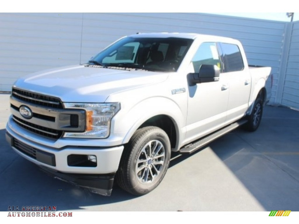 2018 F150 XLT SuperCrew - Ingot Silver / Black photo #3