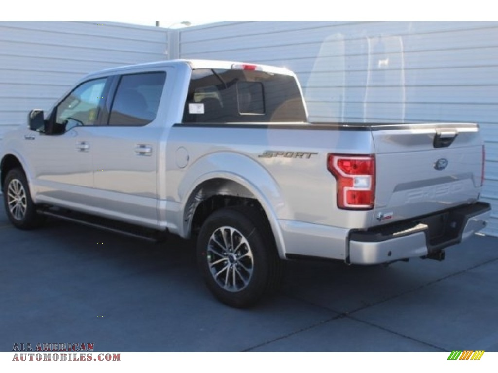 2018 F150 XLT SuperCrew - Ingot Silver / Black photo #6
