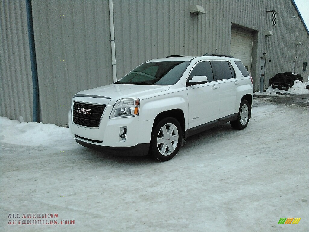 Olympic White / Jet Black GMC Terrain SLE AWD