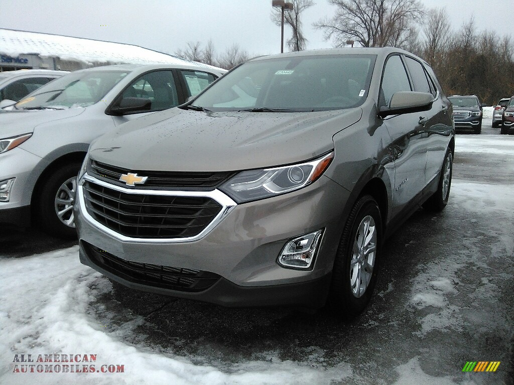 2018 Equinox LT AWD - Pepperdust Metallic / Jet Black photo #1