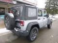 Jeep Wrangler Unlimited Sport 4x4 Billet Silver Metallic photo #2