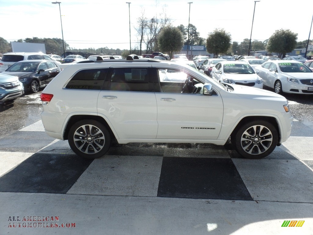 2017 Grand Cherokee Overland 4x4 - Bright White / Brown/Light Frost Beige photo #3