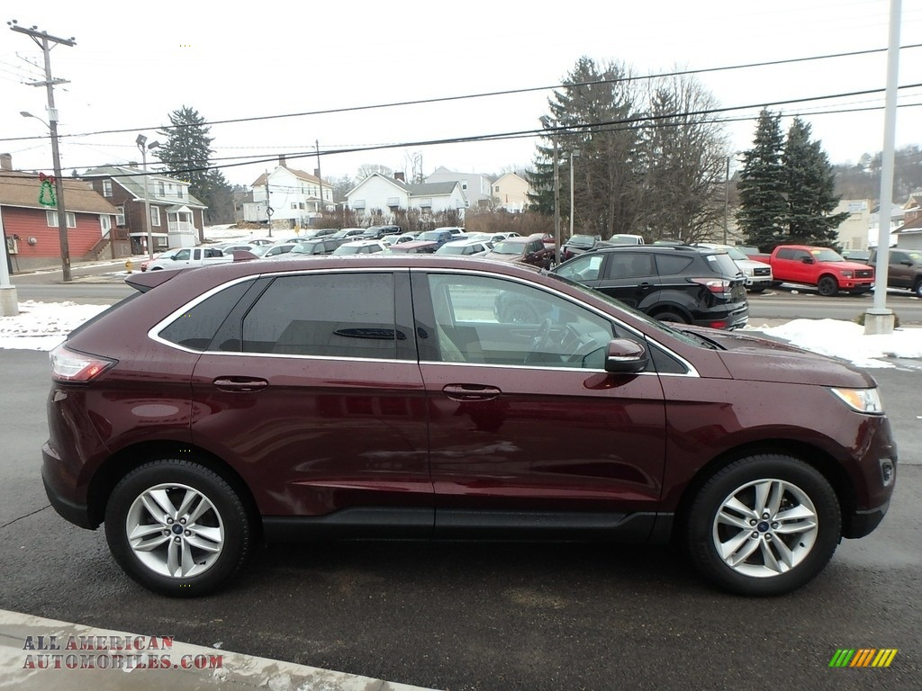 2017 Edge SEL - Burgundy Velvet Metallic / Dune photo #4