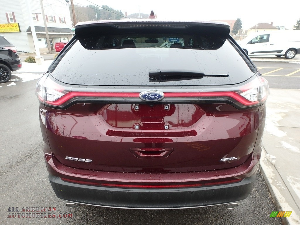 2017 Edge SEL - Burgundy Velvet Metallic / Dune photo #6