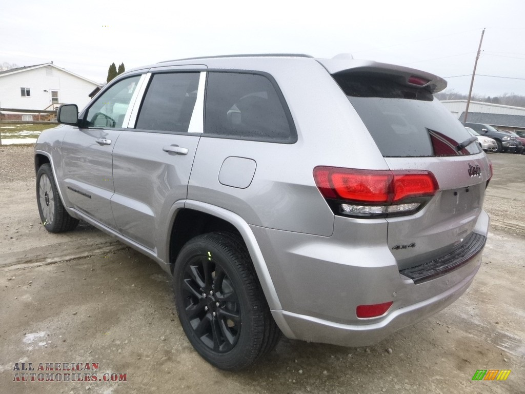 2018 Grand Cherokee Laredo 4x4 - Billet Silver Metallic / Black photo #3