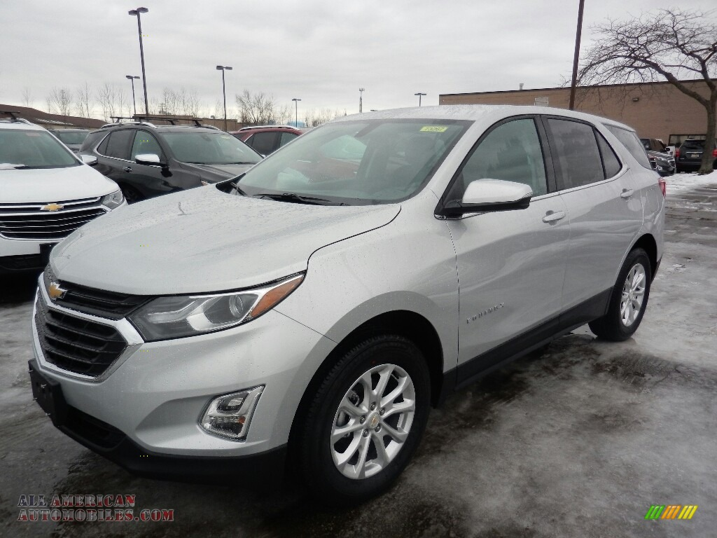 2018 Equinox LT AWD - Silver Ice Metallic / Jet Black photo #1