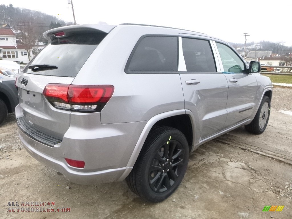 2018 Grand Cherokee Laredo 4x4 - Billet Silver Metallic / Black photo #5