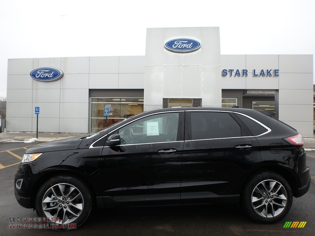 Shadow Black / Ebony Ford Edge Titanium AWD