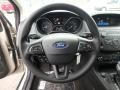Ford Focus SE Sedan White Gold photo #16
