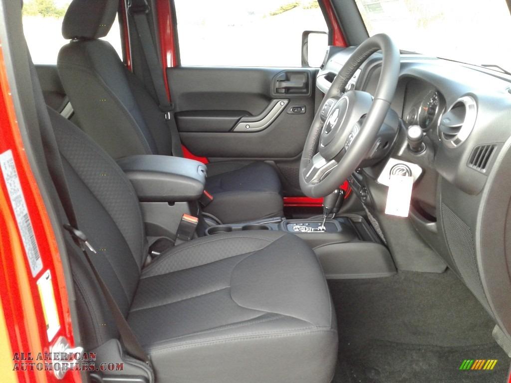 2018 Wrangler Unlimited Sport 4x4 RHD - Firecracker Red / Black photo #10