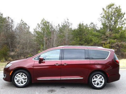 Velvet Red Pearl 2018 Chrysler Pacifica Touring L