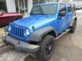 Jeep Wrangler Unlimited Sport 4x4 Hydro Blue Pearl photo #4