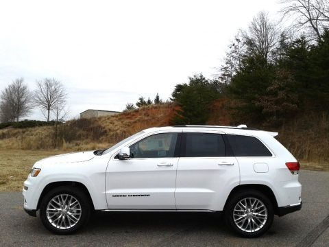 Bright White 2018 Jeep Grand Cherokee Summit 4x4