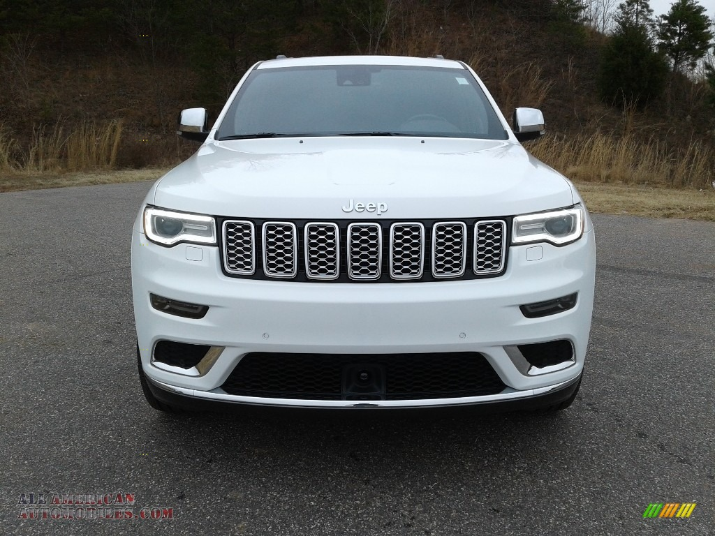 2018 Grand Cherokee Summit 4x4 - Bright White / Black photo #3