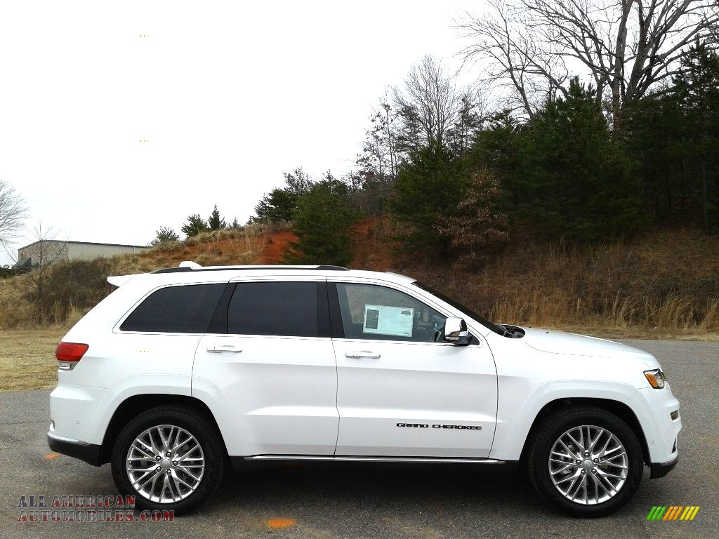 2018 Grand Cherokee Summit 4x4 - Bright White / Black photo #5