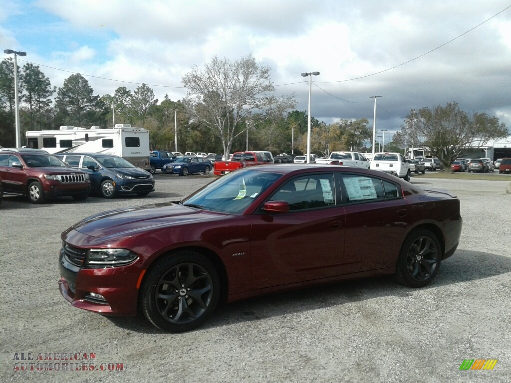 2018 Charger R/T - Octane Red Pearl / Black photo #1