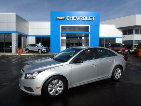 Silver Ice Metallic 2012 Chevrolet Cruze LS