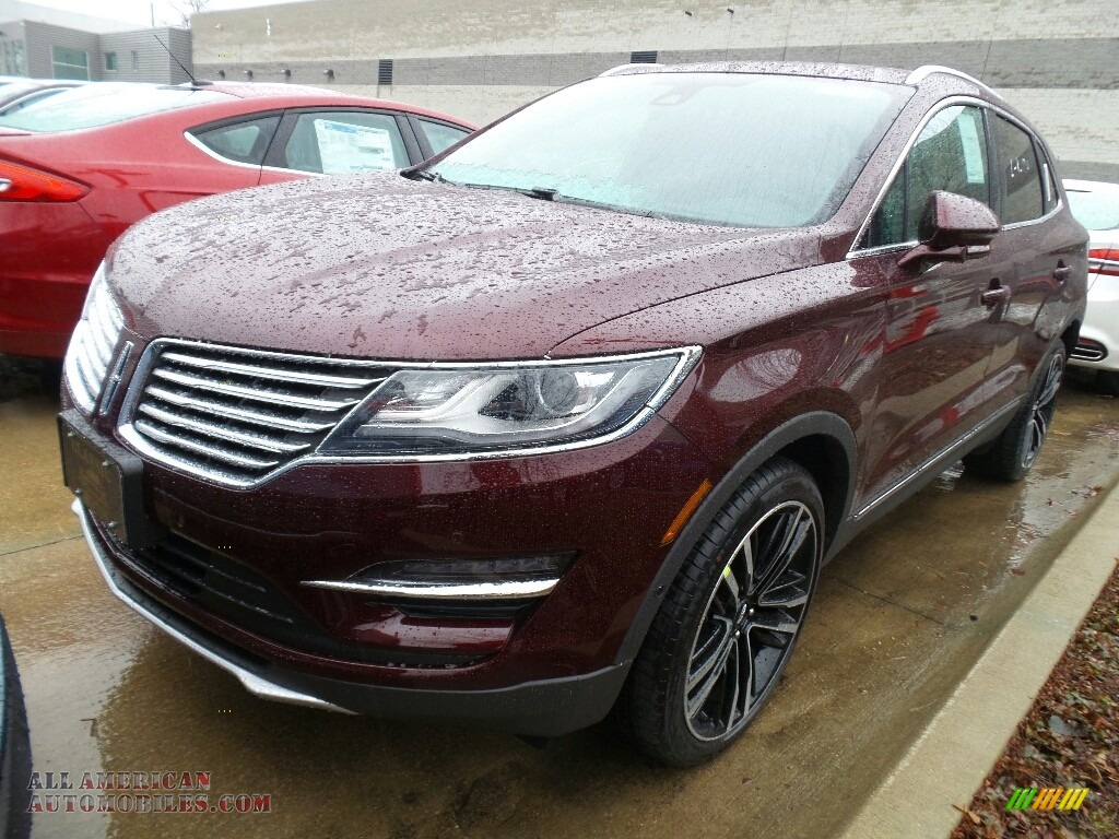 2018 MKC Reserve AWD - Burgundy Velvet Metallic / Ebony photo #1