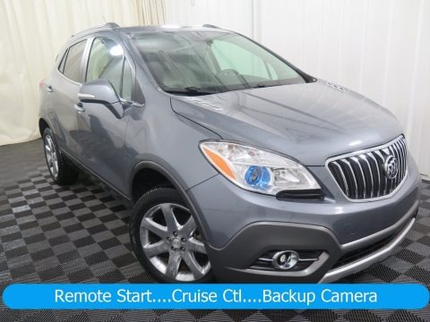Satin Steel Gray Metallic 2014 Buick Encore Leather AWD