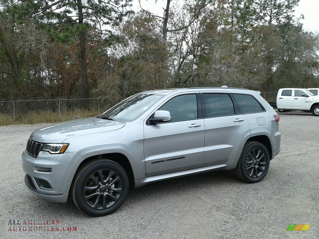 2018 Grand Cherokee High Altitude - Billet Silver Metallic / Black photo #1