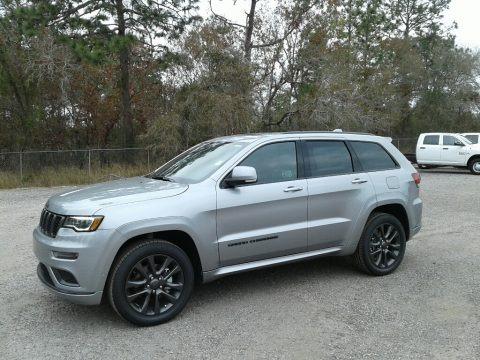 Billet Silver Metallic 2018 Jeep Grand Cherokee High Altitude