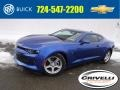 Chevrolet Camaro LT Coupe Hyper Blue Metallic photo #1