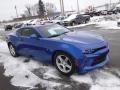Chevrolet Camaro LT Coupe Hyper Blue Metallic photo #8