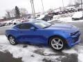 Chevrolet Camaro LT Coupe Hyper Blue Metallic photo #9