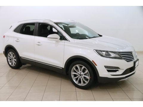 White Platinum Metallic Tri-coat 2015 Lincoln MKC FWD