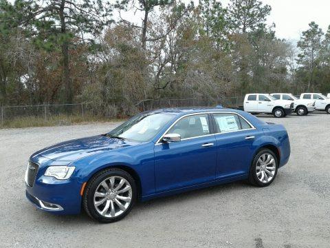 Ocean Blue Metallic 2018 Chrysler 300 Limited