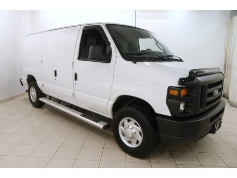 Oxford White 2012 Ford E Series Van E250 Cargo