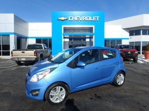 Denim 2014 Chevrolet Spark LT