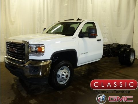 2017 gmc sierra 3500hd regular cab 4x4 dump truck in summit white for sale 310884 all. Black Bedroom Furniture Sets. Home Design Ideas