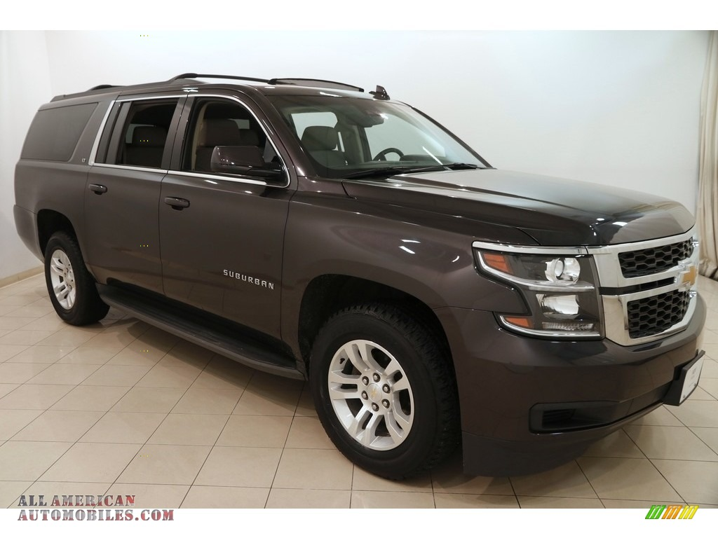 2015 chevrolet suburban lt 4wd in tungsten metallic 680956 all american automobiles buy. Black Bedroom Furniture Sets. Home Design Ideas