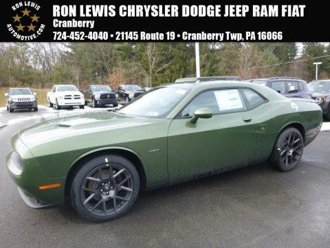 F8 Green 2018 Dodge Challenger R/T
