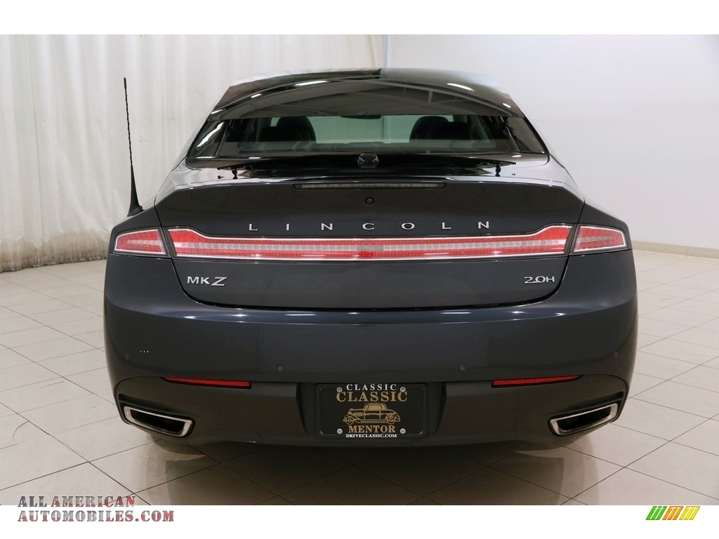 2014 MKZ Hybrid - Smoked Quartz / Charcoal Black photo #20