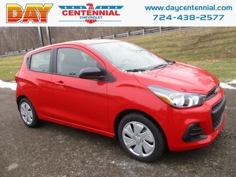 Red Hot 2018 Chevrolet Spark LS