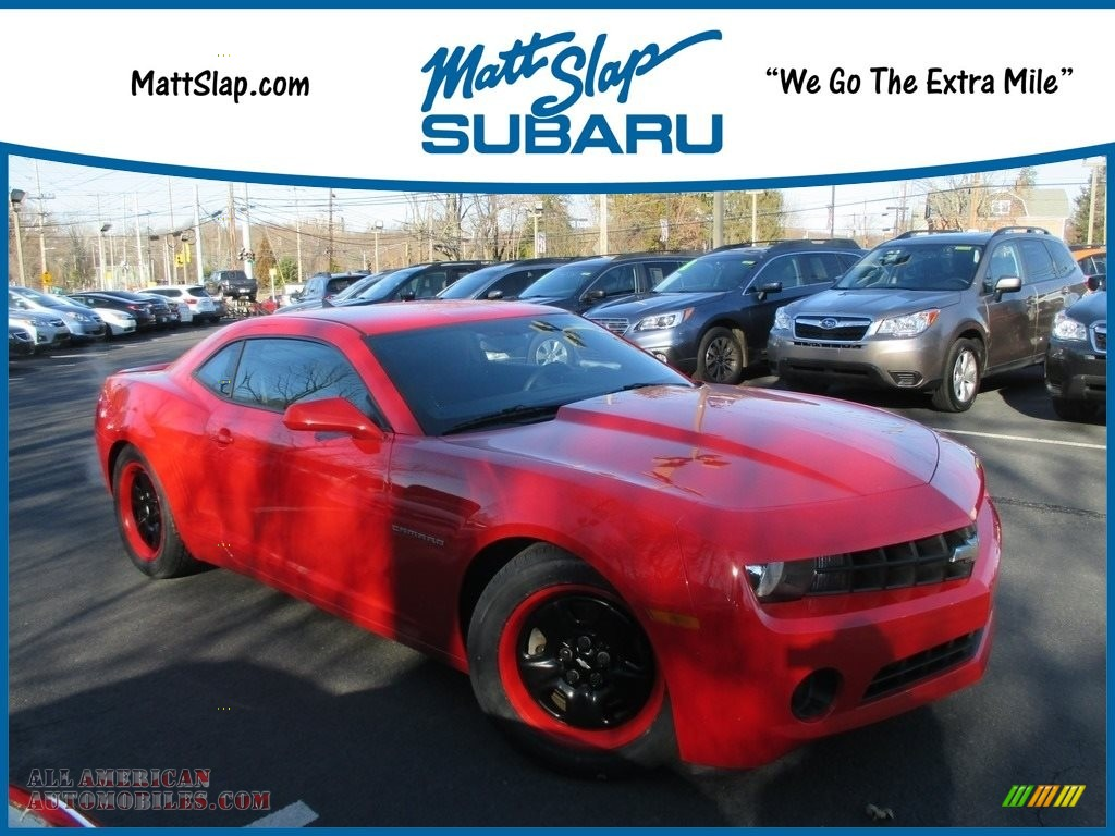 2012 Chevrolet Camaro Ls Coupe In Victory Red For Sale