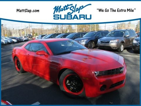Victory Red 2012 Chevrolet Camaro LS Coupe