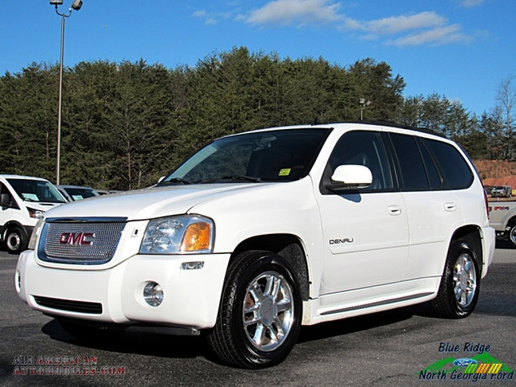 2007 gmc envoy denali 4x4 in summit white 144525 all. Black Bedroom Furniture Sets. Home Design Ideas