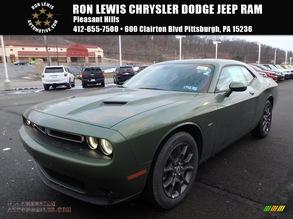 Ron Lewis Jeep >> 2018 Dodge Challenger GT AWD in F8 Green for sale - 205358 | All American Automobiles - Buy ...