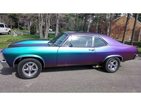 Chameleon Color Change 1972 Chevrolet Nova