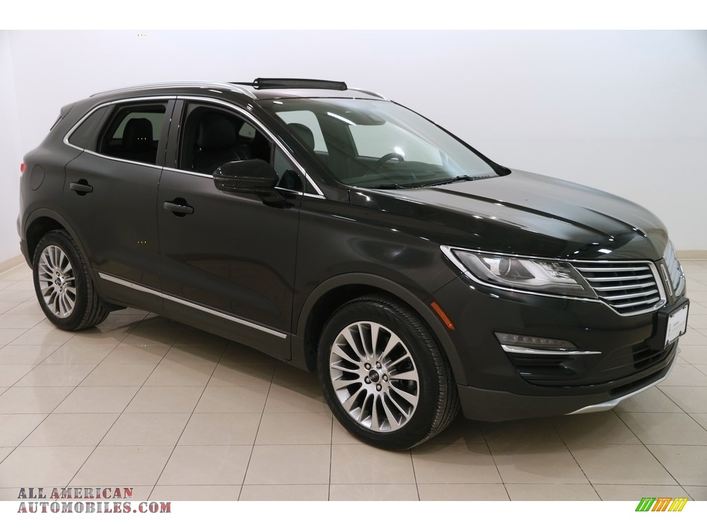 2015 MKC AWD - Tuxedo Black Metallic / Ebony photo #1