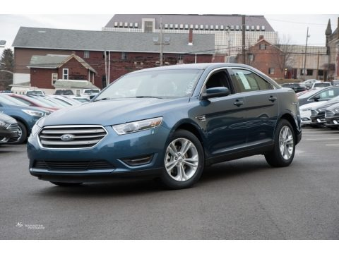 Blue 2018 Ford Taurus SEL AWD