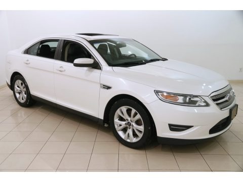 White Platinum Tri-Coat 2012 Ford Taurus SEL