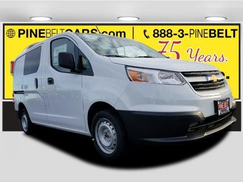 Designer White 2018 Chevrolet City Express LS