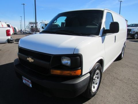 Summit White 2012 Chevrolet Express 1500 Cargo Van