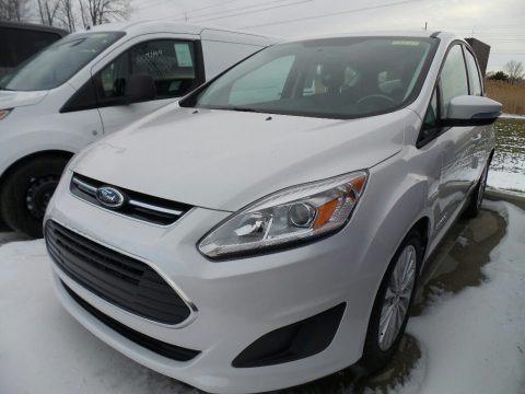 White Platinum 2018 Ford C-Max Hybrid SE