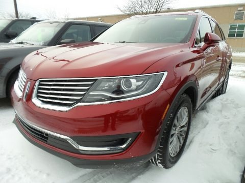 Ruby Red 2017 Lincoln MKX Select AWD